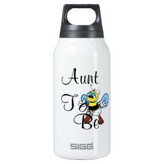 Playful Aunt To Bee 10 Oz Insulated SIGG Thermos Water Bottle