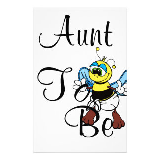 Playful Aunt To Bee Stationery