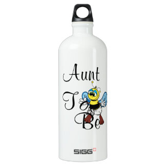 Playful Aunt To Bee Water Bottle