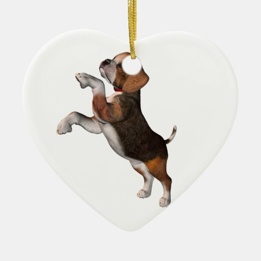 Playful Beagle Ornaments