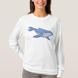 Playful Blue Whale T-Shirt