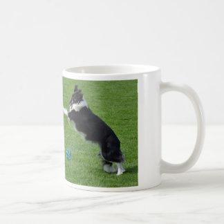 Playful Border Collie Coffee Mug