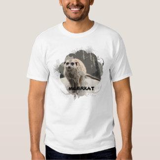 Playful, Brave Meerkat Photo Shirt