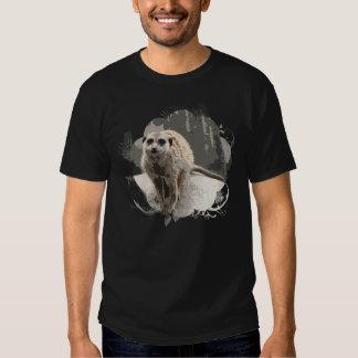 Playful, Brave Meerkat Photo Tee Shirt