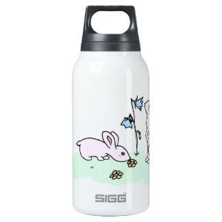 Playful Bunnies Insulated Water Bottle