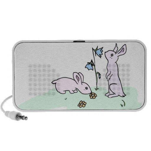 Playful Bunnies Mp3 Speaker