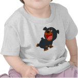 Playful Cartoon Baby Rottweiler Baby T-Shirt