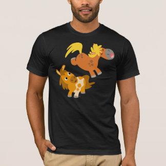 Playful Cartoon Ponies T-shirt