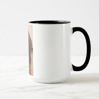 Playful Cat Mug for Left-handers