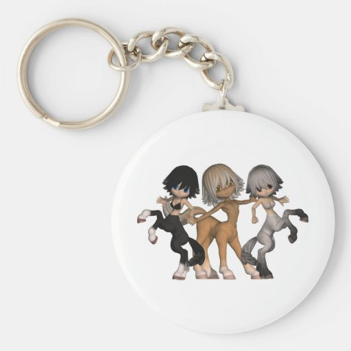 Playful Centaurs Keychain