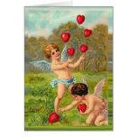 Playful Cherubs Cards
