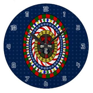 Playful Christmas Clock