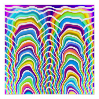 Playful Colors Poster