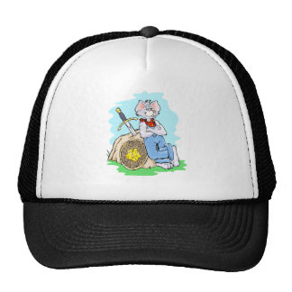 Playful design, colorful and fun trucker hat