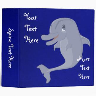 Playful Dolphin Binder