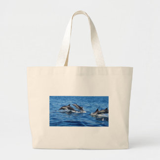 Playful Dolphins Tote Bag