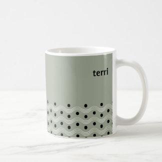 Playful Dots and Squiggles Coffee Mug