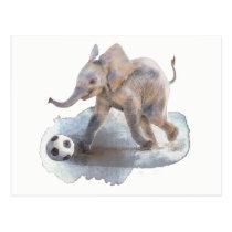 Playful Elephant Postcard