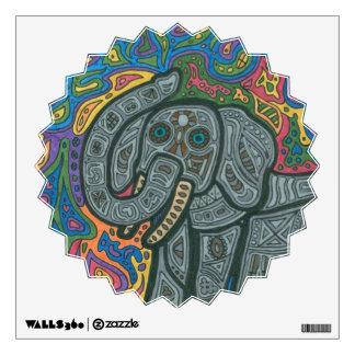 Playful Elephant Wall Decal
