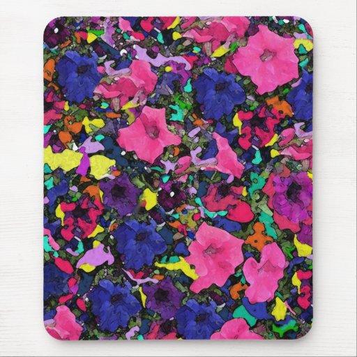 Playful Flowers ~ Mousepad