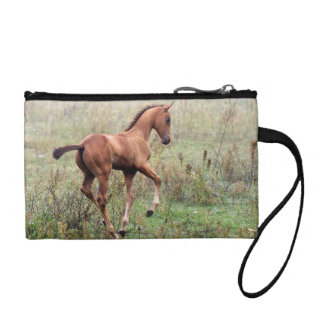 Playful foal coin wallets