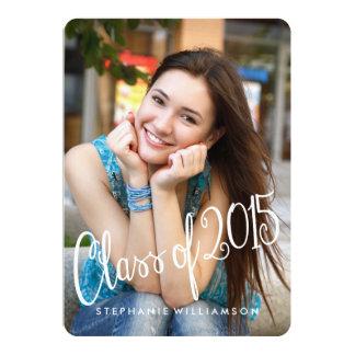 "Playful Fun Class of 2015 Graduation Invite 5"" X 7"" Invitation Card"