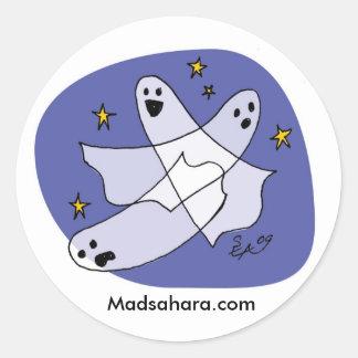 Playful Ghosties Sticker