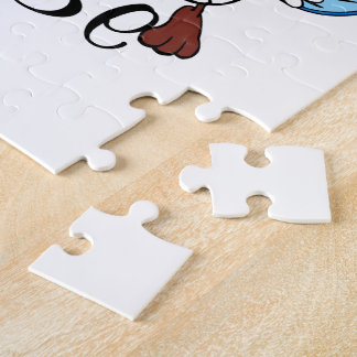 Playful Grandma To Be Jigsaw Puzzles