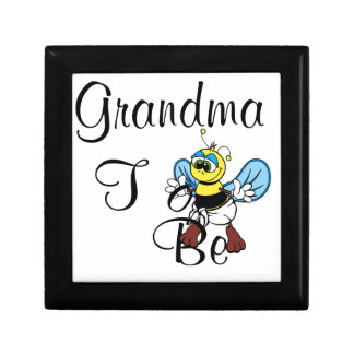 Playful Grandma To Be Keepsake Box