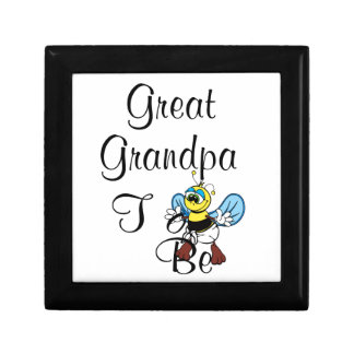 Playful Great Grandpa To Be Jewelry Boxes