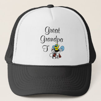 Playful Great Grandpa To Be Trucker Hat