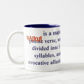 Playful HAIKU Definition Mug