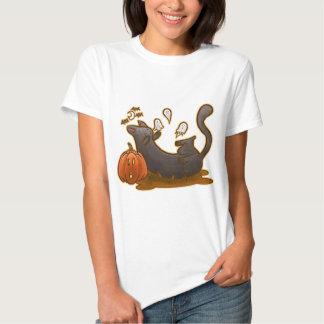 Playful Hallowwen Kitty Tshirt