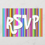 "[ Thumbnail: Playful, Happy ""RSVP"" Card ]"
