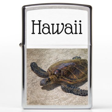 Hawaiian Themed Playful Honu Zippo Lighter