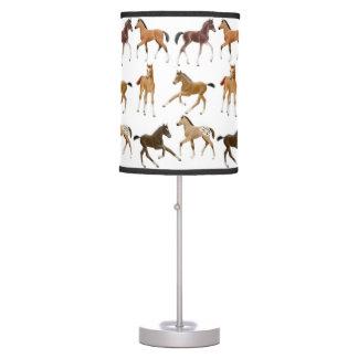 Playful Horse Foals Lamp