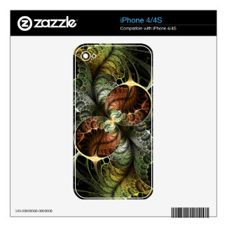 Playful iPhone4/4S Zazzle Skin Decal For The iPhone 4