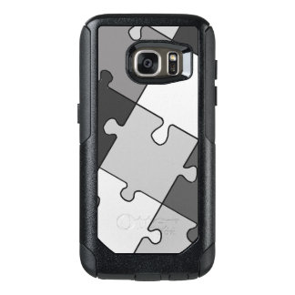 Playful Jigsaw Puzzle Gray OtterBox Samsung Galaxy S7 Case