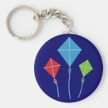Playful Kites Key Chains