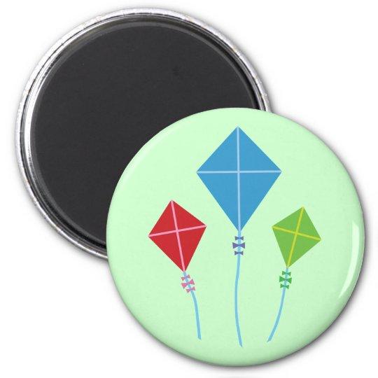 Playful Kites Magnet