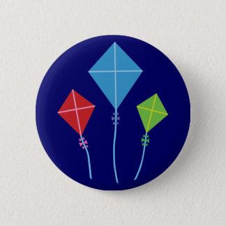 Playful Kites Pinback Button