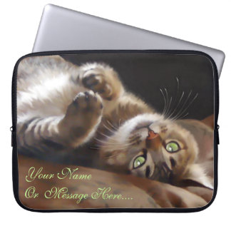 Playful Kitty Laptop Sleeve