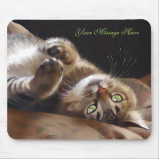 Playful Kitty Mouse Pad