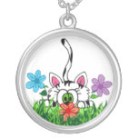 Playful kitty Necklace