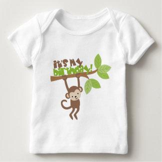 Playful Monkey Birthday Infant T-shirt
