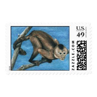 Playful Monkey Stamp