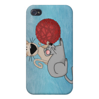 Playful Mouse iPhone 4/4S Covers