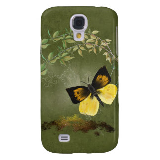Playful Painted Butterfly-  Galaxy S4 Cover