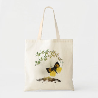 Playful Painted Butterfly- Tote