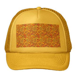 Playful Paisley Hats